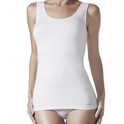 Camiseta sin mangas cuello redondo, Janira Perfect Day Cotton 1045201