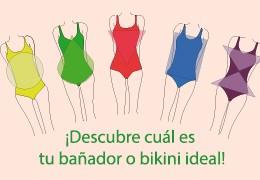 ¡Descubre cuál es tu bikini o bañador ideal
